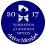 Federation of Canadian Artists Active Member