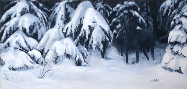 Bella le fantôme (Braque de Weimar)