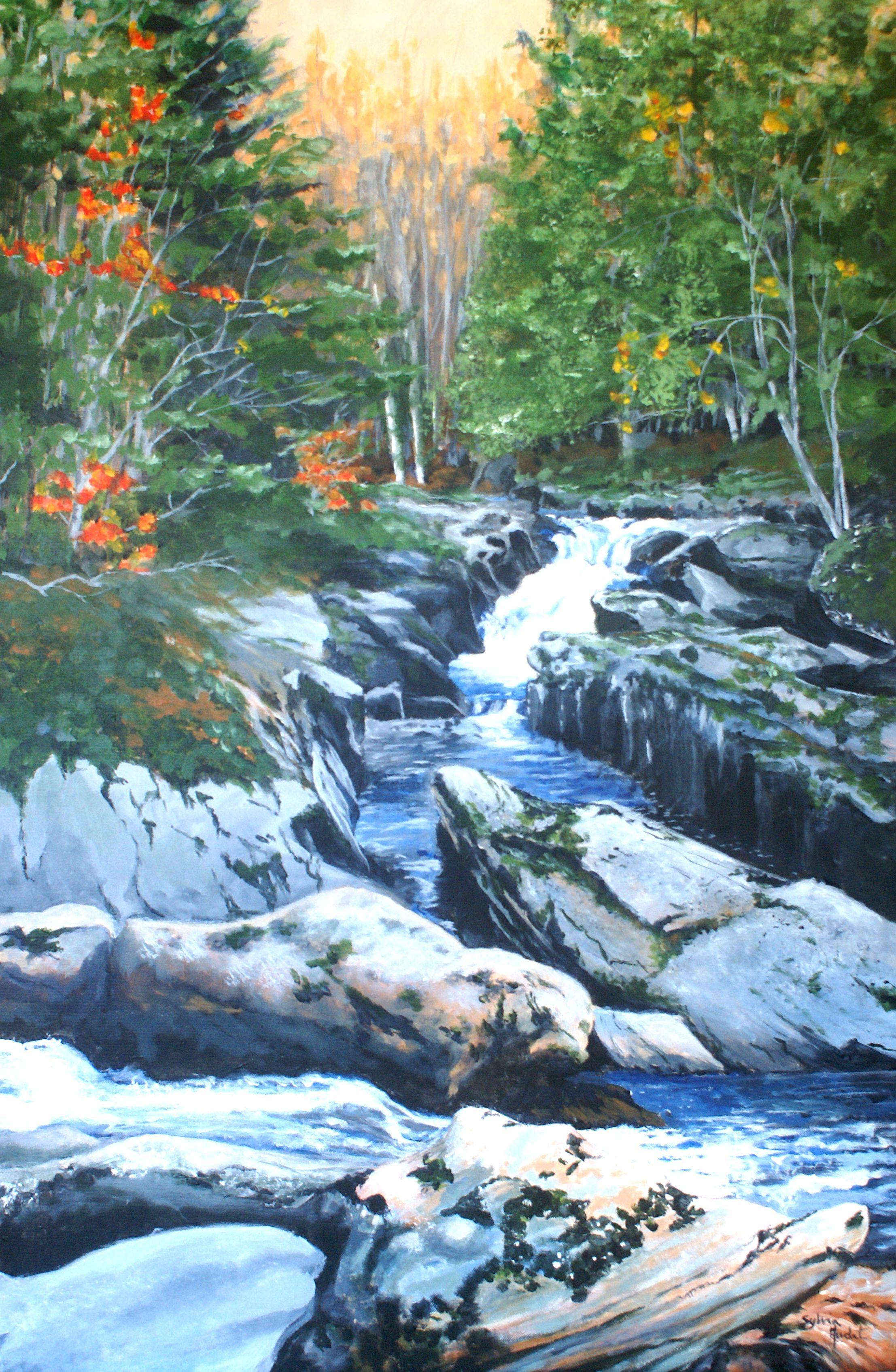 Cascades dans les Bois-Francs