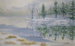 Début de l'automne au lac