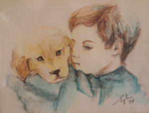 Félix et son chien