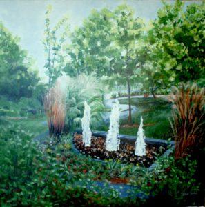 Le jardin de l'Ermitage