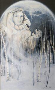 Neige et les mésanges