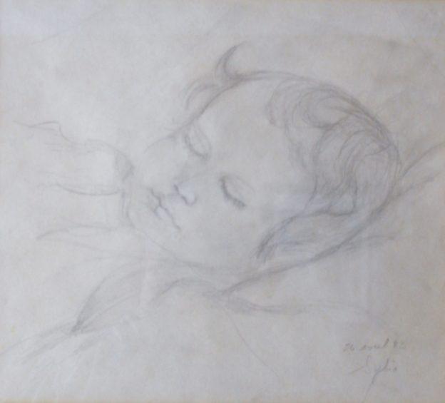 Séléna endormie