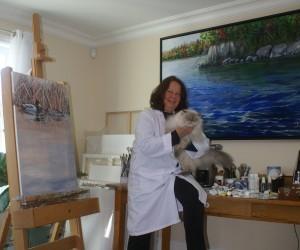 Sylvia Audet, artiste peintre
