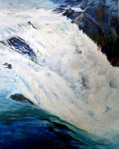 Rivière Chaudière au printemps