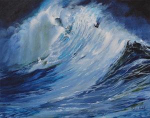 Vague de mer