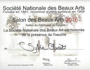 Salon des Beaux-Arts 2016, Carrousel du Louvre